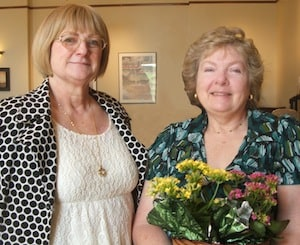 Annabelle and Barbara are two of many who give their time and talents as Family Hospice volunteers.
